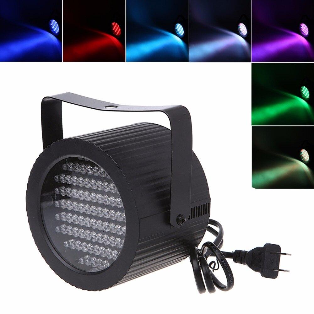 HNGCHOIGE 86 LED RGB LED Light DMX-512 Lighting Laser Projector Par For Party Disco Show Pub EU/US Plug 25W