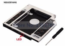 NIGUDEYANG 12,7mm 2nd SATA a SATA HDD Disco Duro HD SSD Caddy adaptador para HP Pavilion G6-2129SO G6-1061ee swap SN-208BB DVD(China)