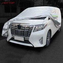 Służbowy samochód kaptur ochronny pokrywa MPV auto van pokrywa dla Toyota Alphard Vellfire 2015 2016 2017 2018