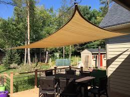 outsunny 20u0027 x 16u0027 rectangle outdoor patio sun sail shadechina mainland - Sun Sail Shade