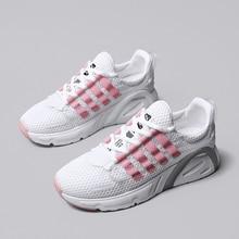 Shoes Woman Sneakers Fashion Flat Walking Platform Sport Footwear Basket Femme Dad Shoes Casual Trainers Pink Tenis Feminin
