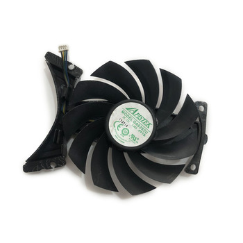 GTX-1080 GPU VGA Card Cooler Fan For ZOTAC GeForce GTX1070Ti-8GD5 GTX1080-8GD5X Graphics Cards As Replacement image