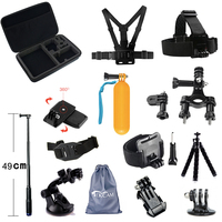 Tekcam Accessories For Gopro Hero 5 Hero 6 Gopro Session Accessories Set For Go Pro 5