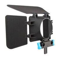 Kamera Wideo Osłona obiektywu canon Nikon Sony DSLR Matte Box 15mm Rail Rod Support System Photo Studio Akcesoria