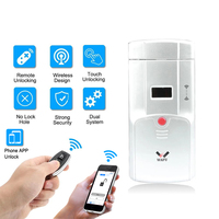 Wafu HF 011A elétrica inteligente fechadura da porta de controle remoto sem fio eletrônico keyless inteligente fechaduras da porta Trava elétrica     -
