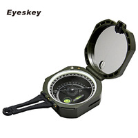Eyeskey Professional Geological Light Military Compass Survival Outdoor Camping Equipment Pocket Compass Travel Adventure
