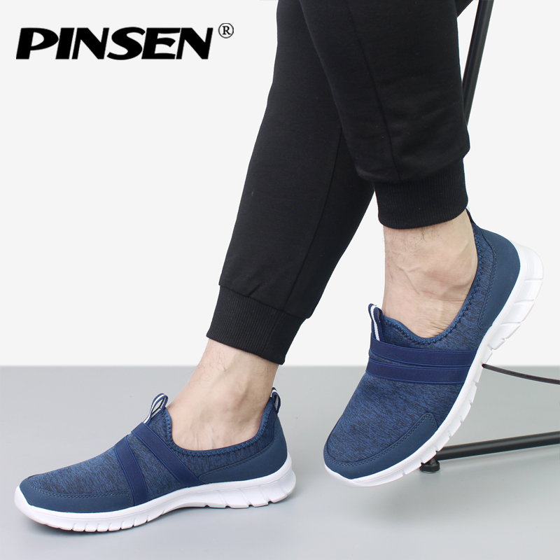 PINSEN Brand Men Casual loafers Breathable