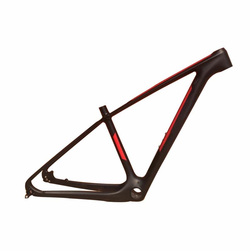 customization brand new mtb carbon frame 29er 3k mountain bikes frame 175 19