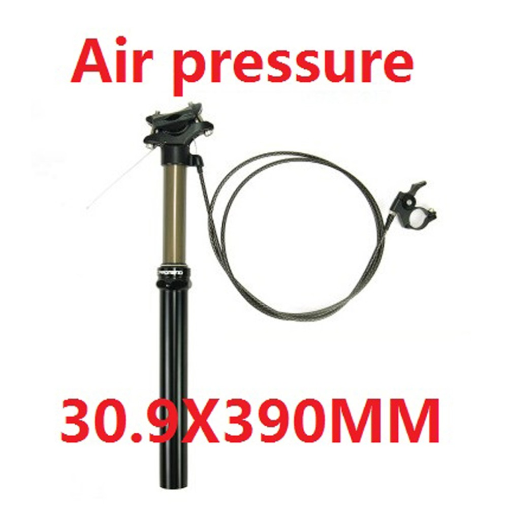 все цены на Bike Seatpost Wire Remote Control Lift Seat Post 30.9/31.6 Mm Downhill DH FR AM XC Air/Oil Pressure Adjustment Seatpost