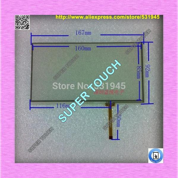 ZhiYuSun Free shipping Touch Screen 167 X 92 BUICK original Car dvd general Screen Touch Screen Digitizer 3 0 vx393 touch screen 71 44mm general touch screen a 3029 g e317