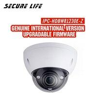 Оригинал с логотипом IPC HDBW81230E ZE 4 К 12mp ip камера ИК купольная камера видеонаблюдения моторизованный Объектив POE 300 м