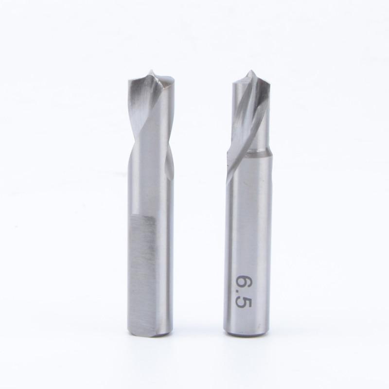 1pcs/lot 6.5mm 8mm Pneumatic Car Spot Welding Drill Bit Pneumatic Drill Tool Parts Air Drill 41mm Length