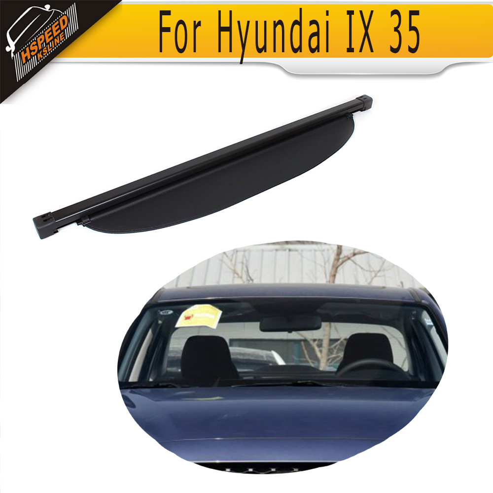 ФОТО 2010 2012 For Hyundai IX 35 Window sun block,Auto car shade PU unpainted Balck Grey Primer covering curtain (Fit 10 12 IX35)