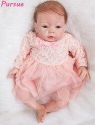 Pursue 53 cm so lovely adora newborn lifelike baby dolls silicone realistic reborn baby doll for.jpg 250x250