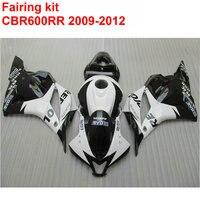 Injection molding ABS full Fairing kit for HONDA cbr600rr 2009 2010 2011 2012 CBR 600 RR black white REPSOL fairings 09 12 LK24