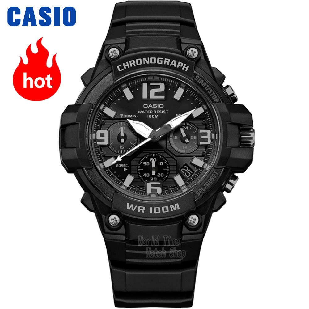 Casio watch Comfortable casual fashion simple neutral student watch MCW-100H-1A3 casio mcw 100h 3a
