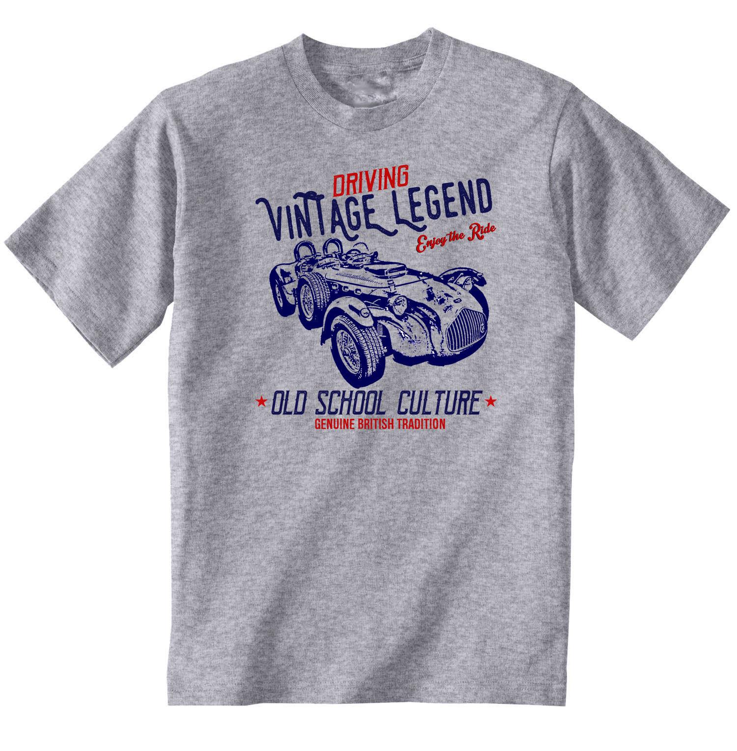 095f828c0f6 Винтажный британский автомобиль ALLARD J2X-новый хлопок футболки Аниме  футболки время приключений playeras de hombre