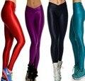 Nueva llegada de Las Mujeres de la Alta De La Cintura Buena elasticidad Leggings de baile GIMNASIO deportes Ciclismo Pantalones lápiz capris Primavera Otoño