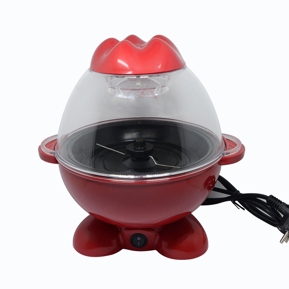 Mini Popcorn Maker Nostalgic Hot Air Popcorn Machine Household Popcorn Popper Electric Mini Popcorn Maker