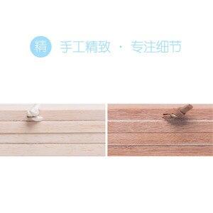 Image 3 - אור אמנות מוצק עץ DIY מגנטי תליית תמונה ציר נורדי מינימליסטי רטרו תמונה פוסטר תליית דקורטיבי ציור מודרני
