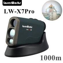 LaserWorks 600 1000 1500 м лазерный дальномер 8 Pro режим для охоты Гольф engineering