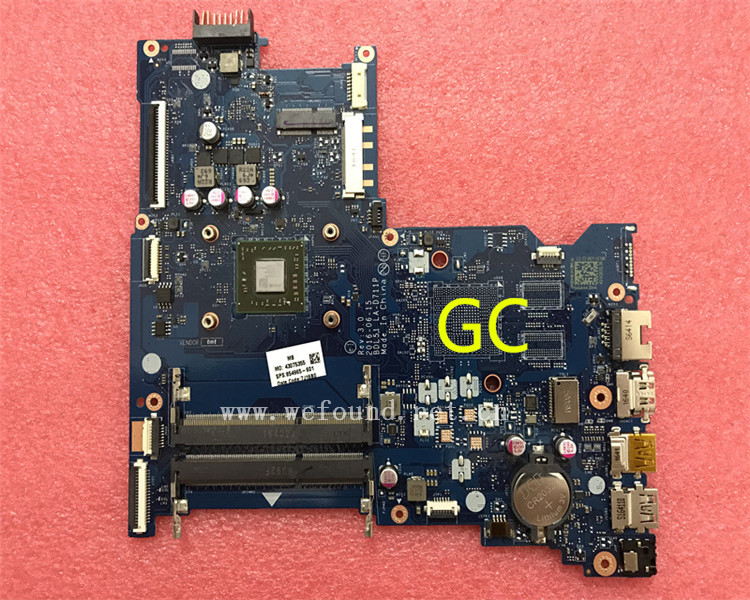 laptop Motherboard For 15-BA LA-D711P 854965-001 854965-501 system mainboard Fully Tested laptop motherboard for dv7 7000 711509 001 711509 501 712183 501 system mainboard fully tested
