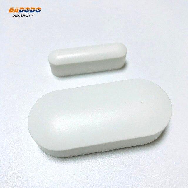 433 mhz sem fio janela porta ímã sensor detector de alarme PB-68-R para casa sistema de segurança alarme sem fio