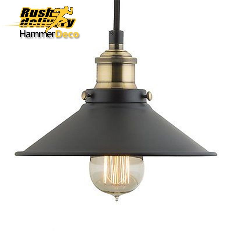 rustic iron pendant lights cheap lighting vintage retro