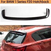 Fibra de carbono hatchback traseiro spoiler para bmw série 1 f20 118i 125i 2012-2014 janela traseira spoiler asa