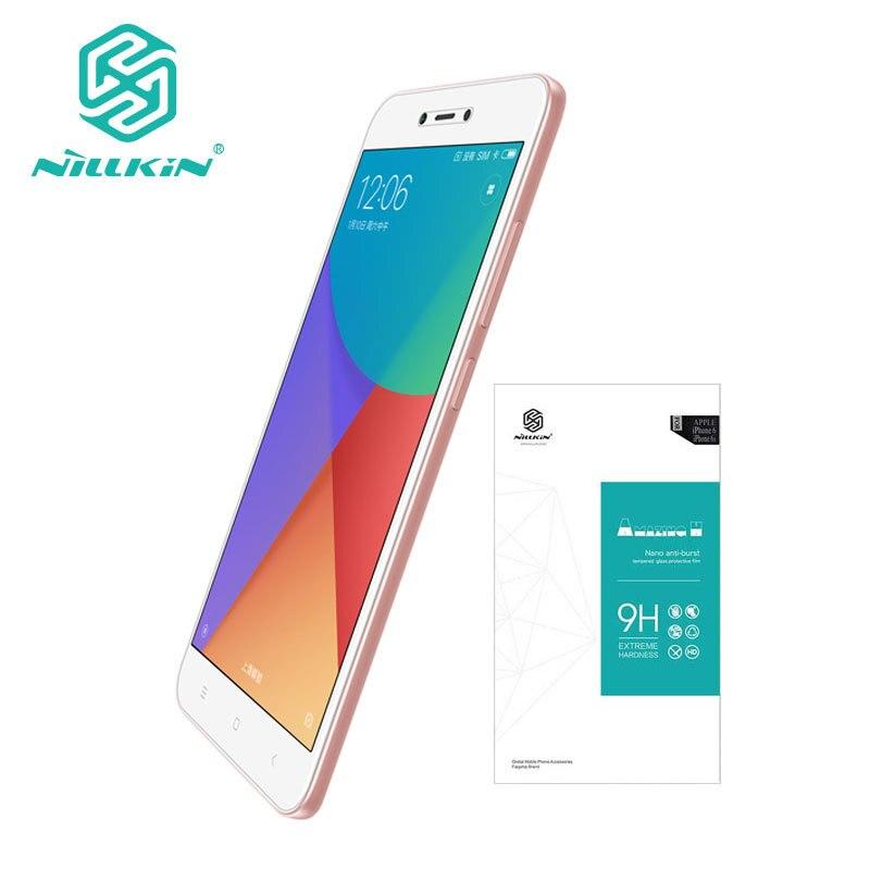 Nillkin Xiaomi Redmi Hinweis 5A Gehärtetem Glas Xiaomi Redmi Y1 Lite glas H 0,33 MM Displayschutzfolie Für Redmi Note 5A 5,5 Zoll