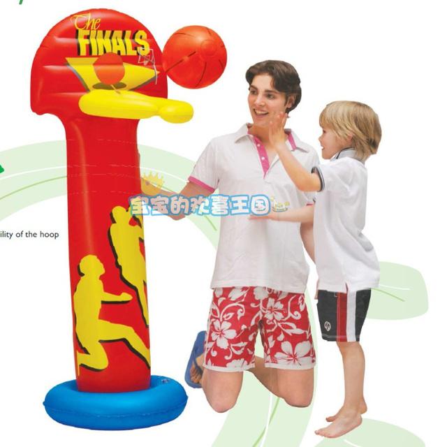 2015 Nova Venda de Brinquedos De Madeira Brinquedo Inflável Basketball Stands, quadro Enviar Tabela Bola Brinquedos Para As Crianças Crianças Frete Grátis