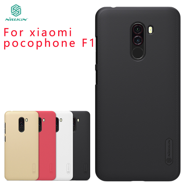 huge selection of 0a013 26a12 US $7.99 10% OFF|For xiaomi pocophone f1 Case Cover NILLKIN Pc Hard Case  For poco f1 Fitted Cases Super Frosted Shield For xiaomi pocophone f1-in ...