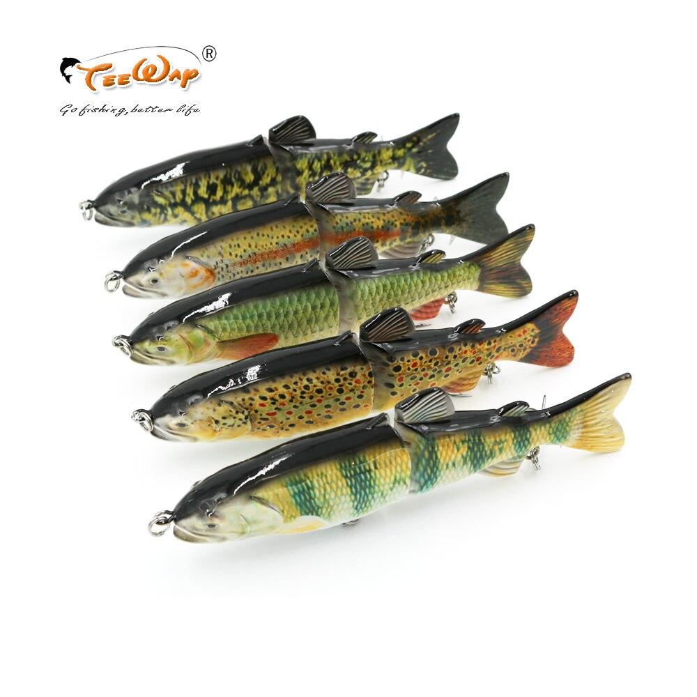 1 Stücke 18 cm 68g Angeln Wobbler 2 Segmente Swimbait Crankbait Fischen Köder mit Künstliche Haken TW201