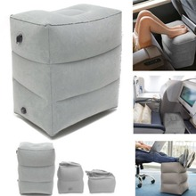 Foot Care Tool Inflatable Foot Rest Travel Air Pillow Cushion Office Home Leg Footrest Relax feet massager