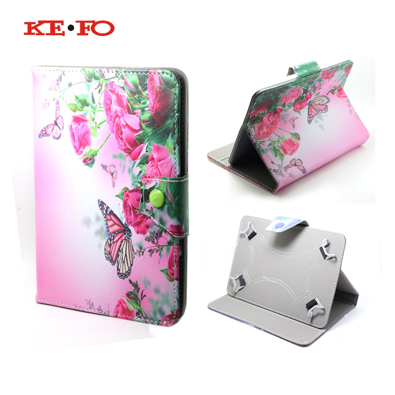 Kefo For Google Nexus 7 ii 2013 case For tablet 7 inch universal Flip Leather Cover For huawei mediapad t1 7.0 t1-701w t1-701u tablet Accessories (39)