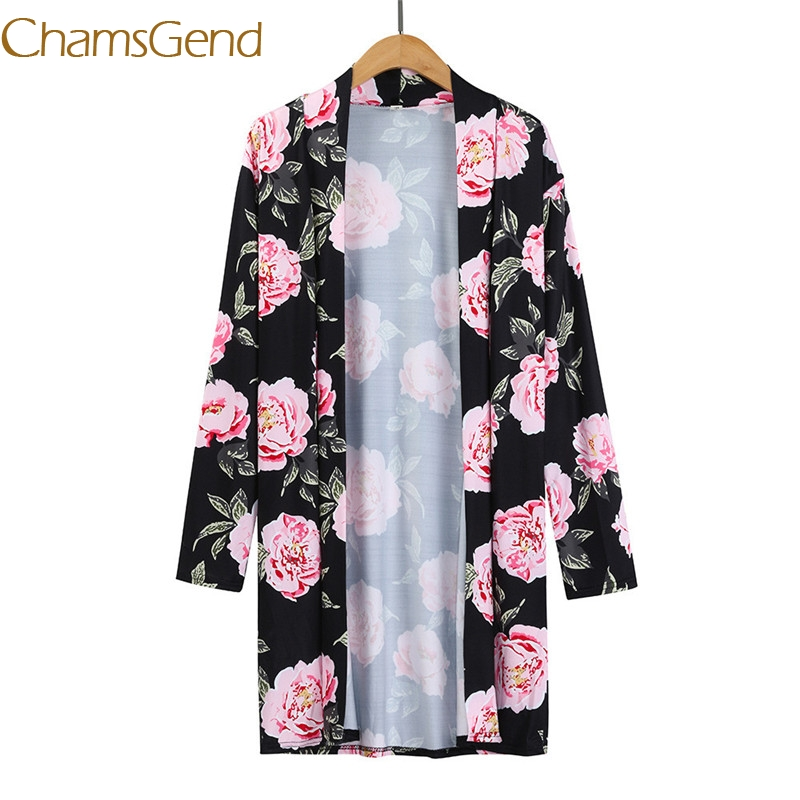 Lovely Chamsgend Sexy Peony Women Shirts Blouses 2017 Autumn Spring Long Sleeve Hot Sale Women Clothing Women Tops B15 A#487 Sturdy Construction Women's Clothing