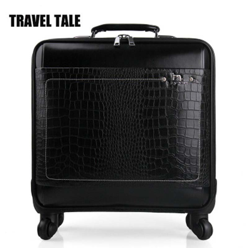 Compare Prices on Black Leather Suitcase- Online Shopping/Buy Low ...