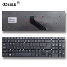 GZEELE English New Laptop Keyboard for Acer Aspire V3-551 V3-551G V3-571 V3-731 V3-771 V3-771G US Replacement Keyboard black(China)