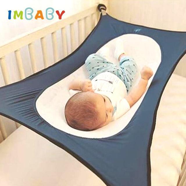 4a38f1dad IMBABY hamaca para bebé recién nacido chico cama seguro desmontable cuna de  bebé elástico hamaca con