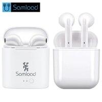 Samload I7S TWS Headset Earbuds Ture Wireless Bluetooth Double Earphone Twins Earpieces Stereo Binaural Earphones