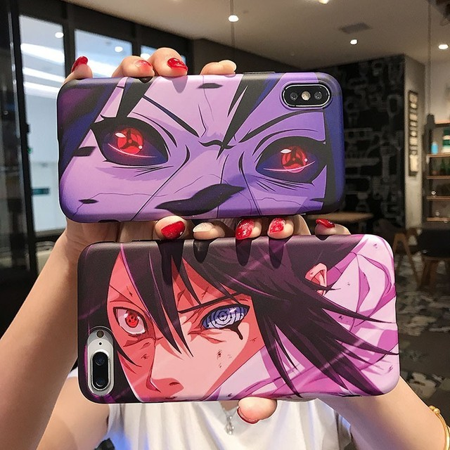 NARUTO Case For Iphone X And lower Models