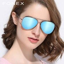 ФОТО fonex brand men's polarized sunglasses rimless aviation driving titanium alloy sunlgass sports womens sun glasses for men f88013