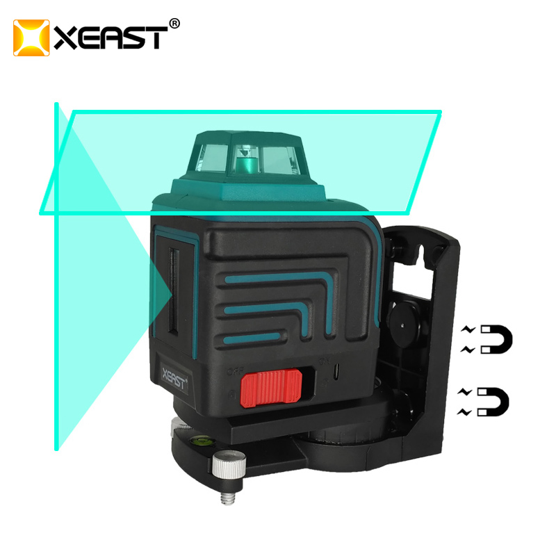XEAST LD 5 Lines 3D Green laser level Self Leveling 360 Horizontal And Vertical Cross green