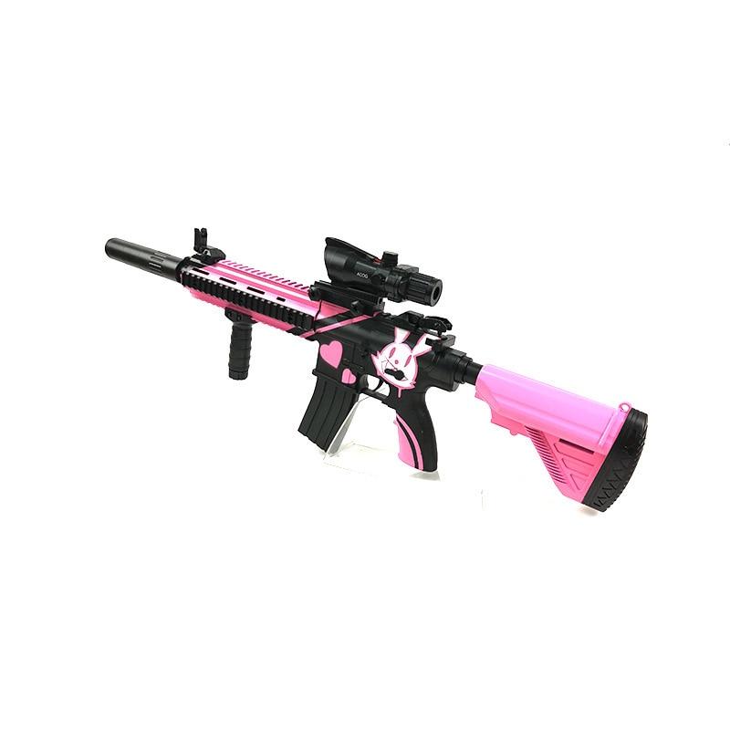 Zhenduo jouet M416 main de jouet lectric pistolet à eau Gel balle pour enfants passe-temps en plein air - 6
