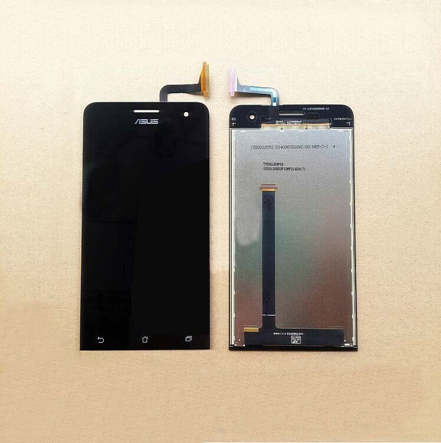 New Original Mobile Phone LCD Display Digitizer Touch screen Assembly For Asus zenfone 5 A500CG T00J T00F with free shipping