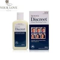 YourLove Australia Restoria Discreet Colour Restoring Lotion Natural Grey Hair Cream Treatment Conditioner Men Women Safe to Use