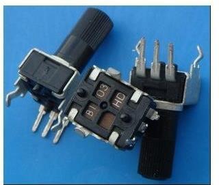 Free Shipping!!! 2pcs RV09-type Vertical Adjustable Potentiometer / Variable Resistor 1K 2K 5k 10K 20K 50K 100K 200k