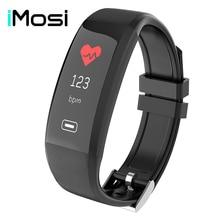 Z4 Smart Bracelet IP67 Color Screen Heart Rate Blood Pressure Oxygen Monitor OLED Bluetooth Sport Pedometer Wrist band
