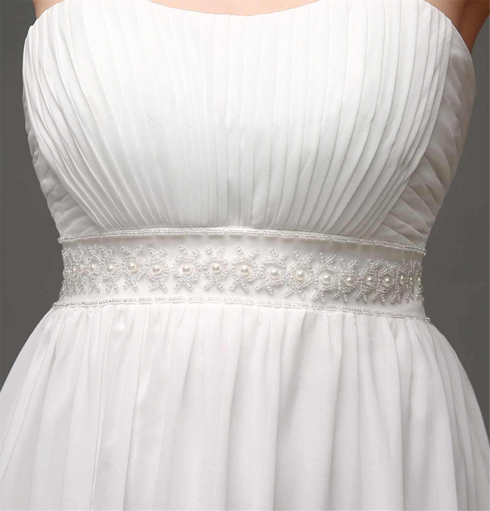 einfache günstige brautkleider kleider 2020 bruidsjurken liebsten eine  linie vestido de novia playa handgemachte brautkleider online shop china