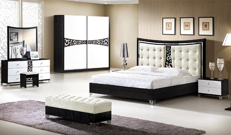 factory direct selling modern bedroom furniture set for 5. Black Bedroom Furniture Sets. Home Design Ideas
